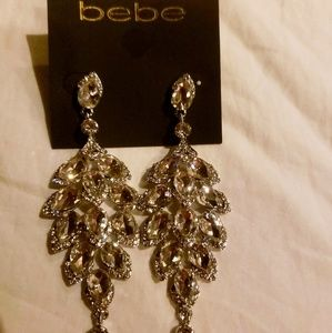 Bebe Formal Chandelier Earrings
